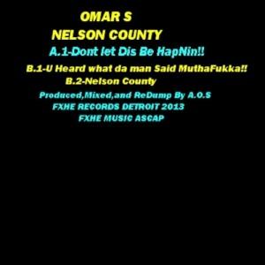 Omar S - Nelson County [FXHE Records]