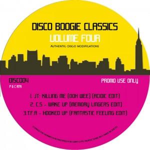 JT, CS, TFA - Disco Boogie Classics Vol 4 [Giant Cuts]