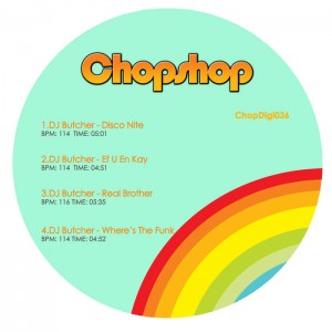 DJ Butcher - Head Nodding Jazz EP [Chopshop]