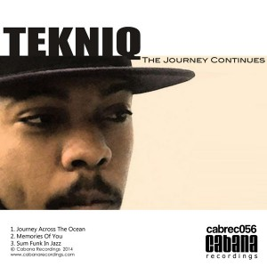 TekniQ - The Journey Continues [Cabana]