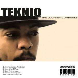 TekniQ - The Journey Continues [Cabana]