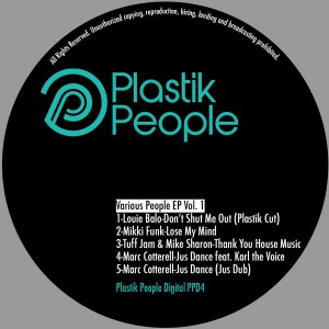 Various Artists  - Various People EP Vol.1 [Plastik People]