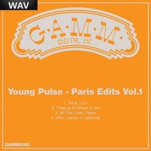 Young Pulse - Paris Edits Vol 1 [Gamm]
