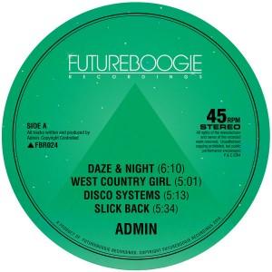 Admin - Daze & Night EP [Futureboogie Recordings]