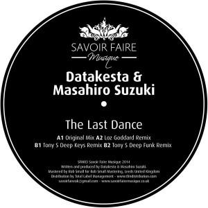 Datakesta & Masahiro Suzuki - The Last Dance [Savoir Faire Musique]