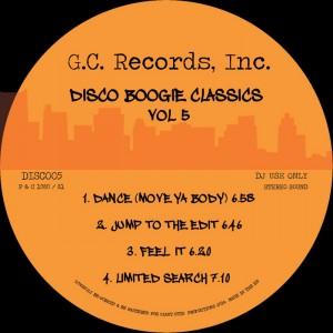 Disco Boogie Classics - Disco Boogie Classics Volume 5 [Giant Cuts]