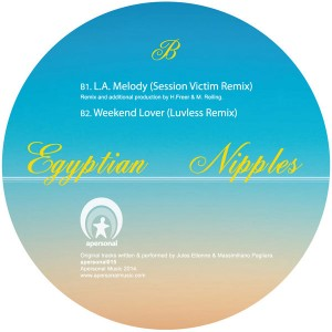 Egyptian Nipples - Back But Half Remixes [Apersonal Music]