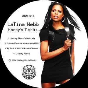 Latina Webb - Honey's T-shirt [Uniting Souls Music]