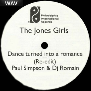 The Jones Girls - Dance Turned Into A Romance [Simp House Production LLC]