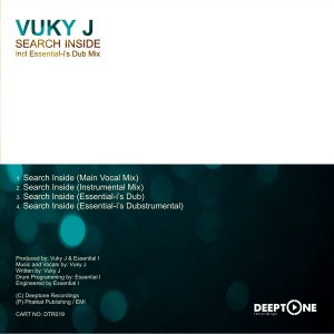 Vuky J - Search Inside [Deeptone Recordings]