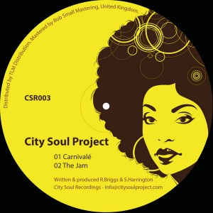 City Soul Project - CSR003 [City Soul Recordings]