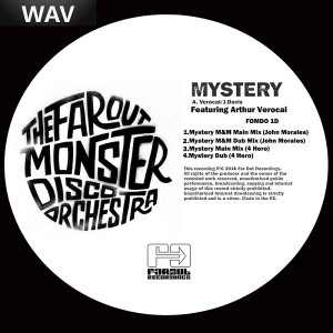 The Far Out Monster Disco Orchestra - Mystery (John Morales & 4 Hero Remixes) [Far Out Recordings]