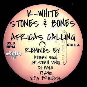 K-White feat. Stones & Bones - K-White Feat. Stones & Bones [DNH]