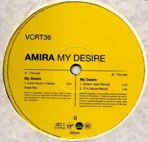 Amira - My Desire [VC Recordings]