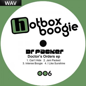 Dr Packer - Doctor's Orders EP [Hotbox Boogie]
