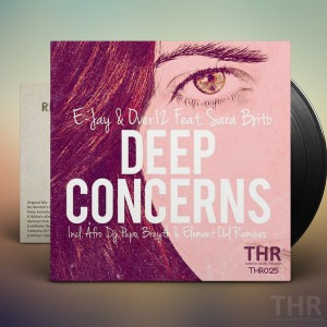 E-jay & Over12 Feat. Sara Brito - Deep Concerns [Tainted House]