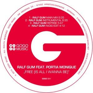Ralf GUM feat. Portia Monique - Free (Is All I Wanna Be) [GOGO Music]