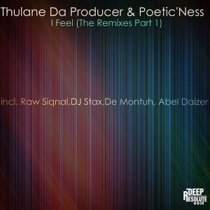 Thulane Da Producer & Poetic'ness - I Feel (The Remixes Pt. 1) [Deep Resolute (PTY) LTD]