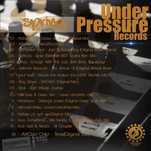 Various Artists - Spring Selection [Under Pressure Records (SA)]
