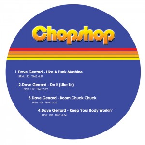 Dave Gerrard - Rip More Funk EP [Chopshop]