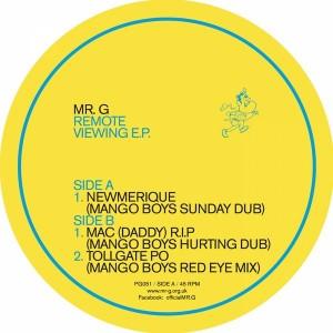 Mr. G - Remote Viewing EP [Phoenix G]