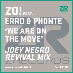 Zo! feat. Erro & Phonte - We Are On The Move (Shur-i-kan Remixes) [Z Records]