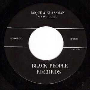 Roque - Mawillies [Black People Records]