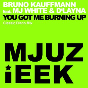 Bruno Kauffmann feat. MJ White & D'Layna - You Got Me Burning Up [Mjuzieek Digital]