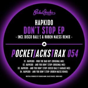 Hapkido - Don't Stop EP [Pocket Jacks Trax]
