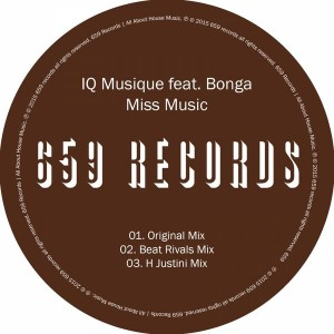 IQ Musique feat. Bonga - Miss Music [659 Records]