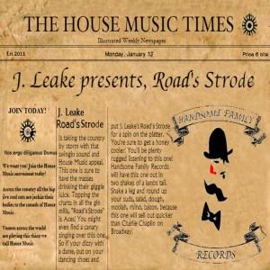 JLeake - Road's Strode [Handsome Family Records]