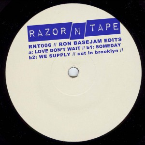 Ron Basejam - Ron Basejam Edits [Razor-N-Tape]