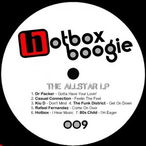 Various - The Allstar LP [Hotbox Boogie]