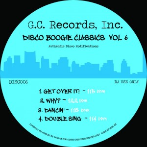 Various - Disco Boogie Classics Vol. 6 [Giant Cuts]