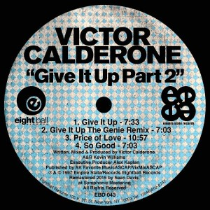 Victor Calderone - Give It Up, Pt. 2 [Eightball Records Digital]