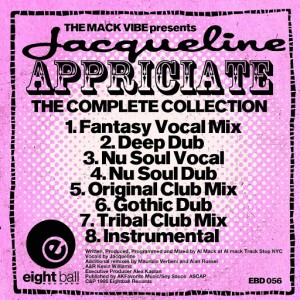 Mack Vibe (Al Mack) - Jacqueline Appreciate The Complete Collection [Eightball Records Digital]