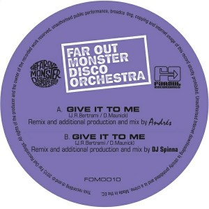 The Far Out Monster Disco Orchestra - Give It to Me [Far Out Recordings]