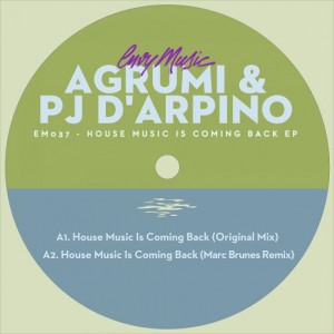 Agrumi - House Music Is Coming Back EP [Envy Music]