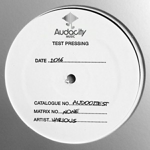 Max Riolo, Silvia Riolo LaDj, Underdeep Inc. - Audacity Test Pressing #2 [Audacity Music]