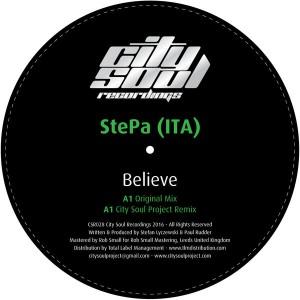 StePa (ITA) - Believe  [City Soul Recordings]