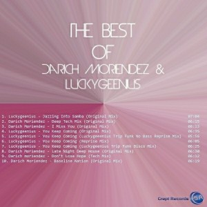 Darich Moriendez & Luckygeenius - The Best Of Darich Moriendez & Luckygeenius [Crept Records SA]
