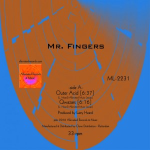 Mr. Fingers - Outer Acid EP [Alleviated]