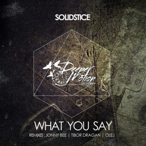 Solidstice - What You Say [Deeper Motion Recordings]