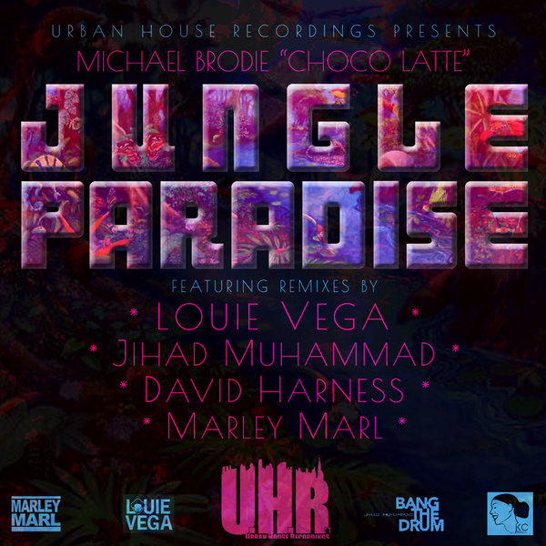 Essential music michael brodie jungle paradise urban for Jungle house music