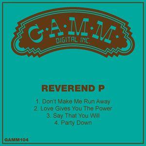 Reverend P - Reverend P Edits 3 [Gamm]