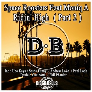Space Roosters feat.Moniq A - Ridin' High, Pt. 2 [Disco Balls Records]