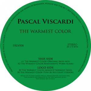 Pascal Viscardi - The Warmest Color [Frole Records]