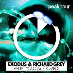 Exodus & Richard Grey - What You Say (Remixes) [PEAK HOUR MUSIC]
